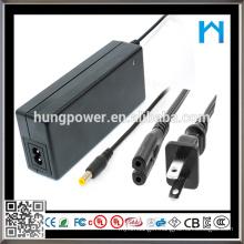 65w ce rohs Approuvé CCTV 24 Volt 2.7 Amp Power Adapter