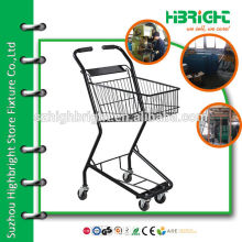 nestable shopping trolley cart
