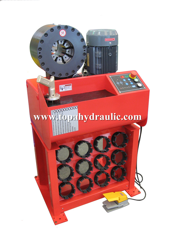 HCM-91H Computer type hydraulic hose crimping machine