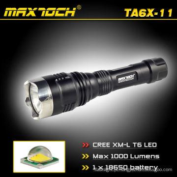 Maxtoch TA6X-11 focado feixe Cree T6 polícia Flash luz caça