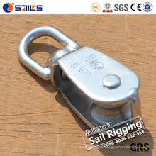Stainless Steel Casting Swivel Single Block Sheave