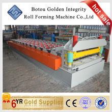 1080 IBR Roof Tile Roll forming Machine, Metal tile making machine, durable steel tile making machine in China
