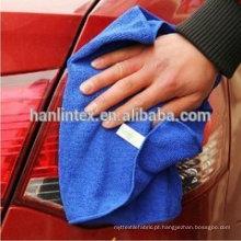 Poliéster-poliamida toalhas de microfibra para limpeza de carro, lavagem de carro
