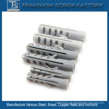 Anclas plásticas de nylon del PVC de los PP