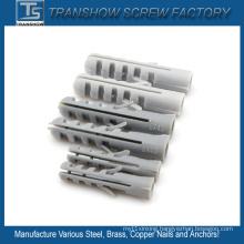 PP PE PVC Nylon Plastic Anchors