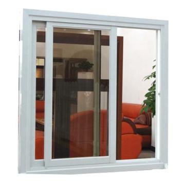 Фантастически выглядящие гладкие раздвижные окна с одной панелью