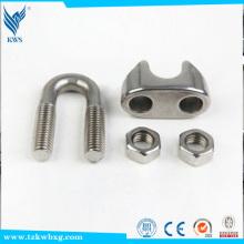 AISI M6 316 braçadeiras de aço inoxidável de amostra livre usadas em equipamentos elétricos