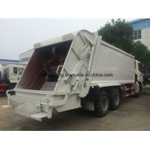 China 6X4 Compressed Garbage Truck 18 M3