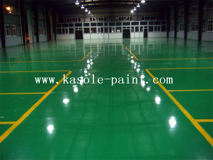 Transparent Epoxy Resin Floor Paint
