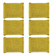 Scouring Pad Cleaner Washing Steel Metal Scrub Sponge For Kitchen Cleaning