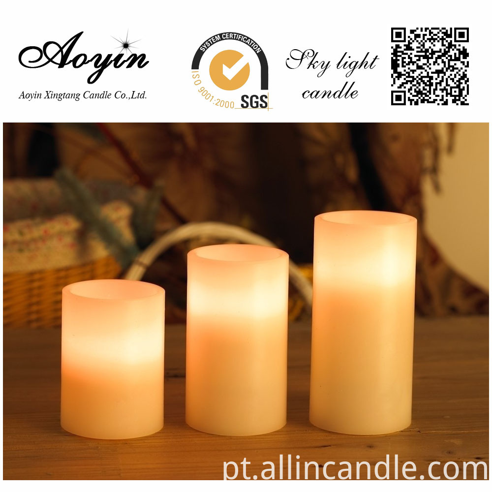 Remote Control LED Candle LED Pillar Candles
