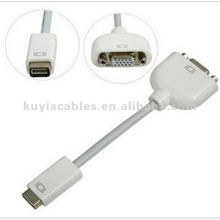 Super Mini DVI to VGA Cable Monitor Adapter Video Cable f