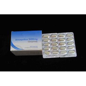 Best Price for β-lactam Antibiotics Amoxicillin Tablet BP 500MG export to Guadeloupe Factory