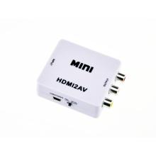 1080P Mini HDMI to AV/RCA/Cvbs Converter HDMI2AV