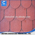 recycled materials, flexible roofing material double-layer asphalt shingles