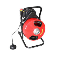 D-300F limpiador de drenaje de alcantarillado portátil, diseño robusto con aprobación CE