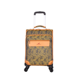 newest design flower patter trolley Luggage