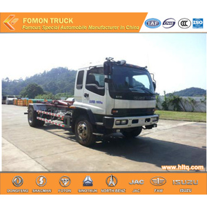 Japan technology  Hook Lifting Refuse Truck