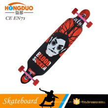 Skate feito sob encomenda da cor do patim da placa longa skateboard 36 polegadas