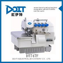 máquina de costura de overlock prático super alta velocidade DT747F