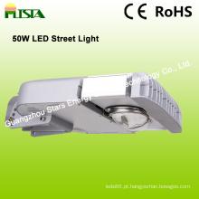 Iluminação de rua do diodo emissor de luz 50W com a microplaqueta do diodo emissor de luz de Bridgelux