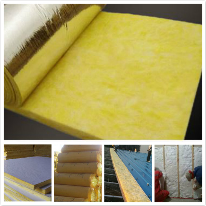 Glass wool For Steel Structure Buildings