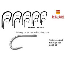 Stainless Steel Fly Fishing Hook C68s Ss