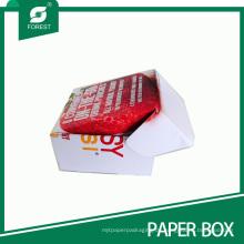 Benutzerdefinierte on-the-Go-Karton Getränkträger-Box