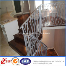 Concise Residential Modern Wrought Iron Railings (dhrailings-1-1)