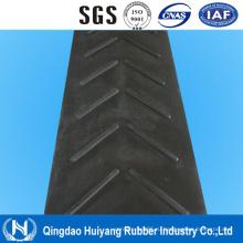 6-25мм Высота антискользящая рифленая V Тип шевронная конвейерная лента