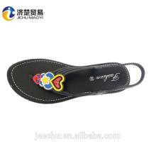 2017 Cheap wholesale woman flip flop shoe flip flop sandals straw