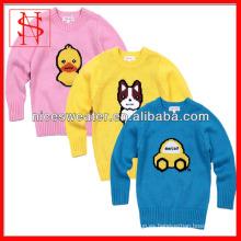 suéter hecho punto suéter del nuevo estilo de los niños para los cabritos
