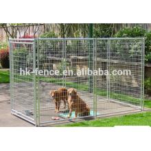 горяч-окунутый оцинкованной Сварной сетки собаки питомника