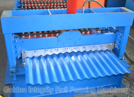 850-corrugated machine