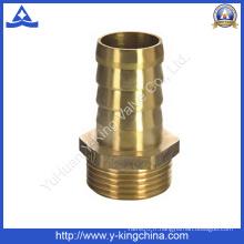 Raccord de tuyau en laiton filetage mâle pour connecteur de tuyau flexible (YD-6037)