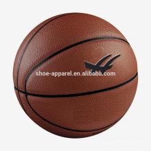 8-panel caoutchouc taille 7 hommes de basket-ball