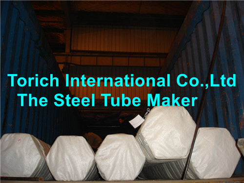 Steel Tube Container Packing