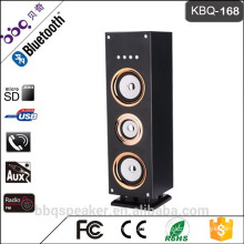 Hottest selling KBQ-168 wireless Bluetooth tower speaker with 3000 mAh build-in battery/ FM radio