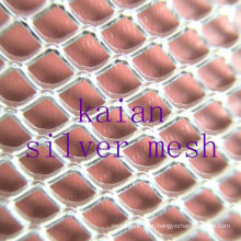 Sterling Silver Mesh / Pure Silver Mesh / Diamond Silver Mesh / Expanded Silver Mesh ---- 35 years factory
