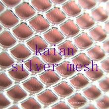 Sterling Silver Mesh / Prateado Silver Mesh / Diamond Silver Mesh / Expandida Prata Mesh ---- 35 anos de fábrica