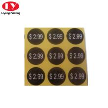 adhesive paper sticker printing design