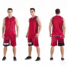 novo design basquete jersey oem costume atacado malha basquete uniforme desgaste