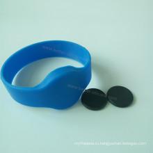 Резиновый браслет RFID для контроля доступа для библиотеки