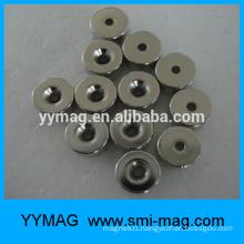 Hot neodymium rare earth industrial surplus sale magnet ring