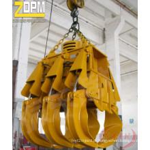 Garra de madeira hidráulica elétrica