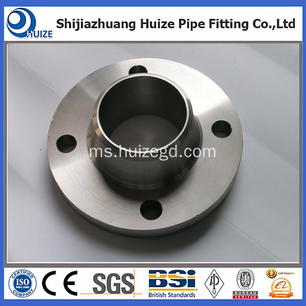ANSI B16.5 flange thread