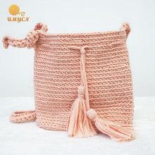 Tassel Crochet Ladies Single-Shoulder Bag