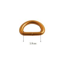 High Quality Custom Made Metal D Ring for Handbags