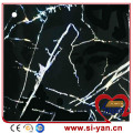 Membrane press veneer foil door cover