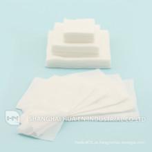 2014 nova esponja médica 100% algodão com gaze medicinal
